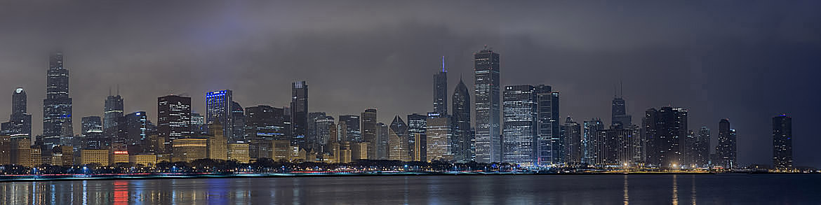 Photograph of Chicago Skyline 1