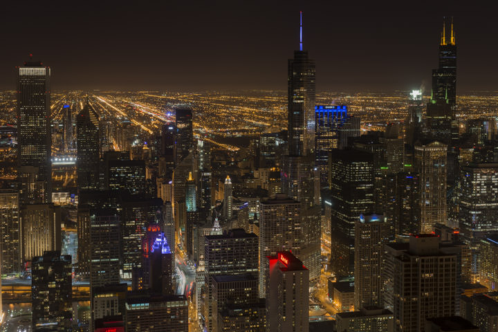 Photograph of Chicago Skyline 10