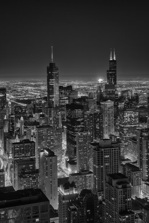 Photograph of Chicago Skyline 14