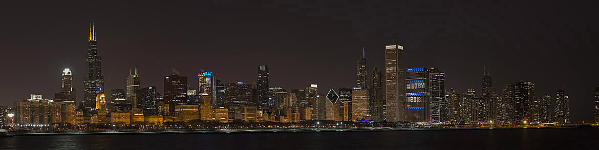 Photograph of Chicago Skyline 2