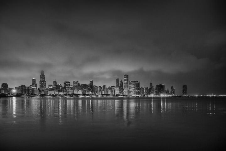 Photograph of Chicago Skyline 3