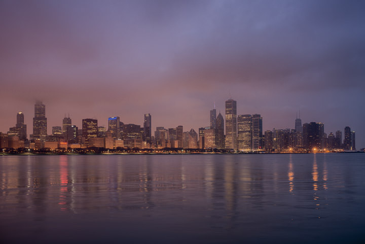 Photograph of Chicago Skyline 4