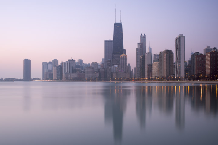 Photograph of Chicago Skyline 9