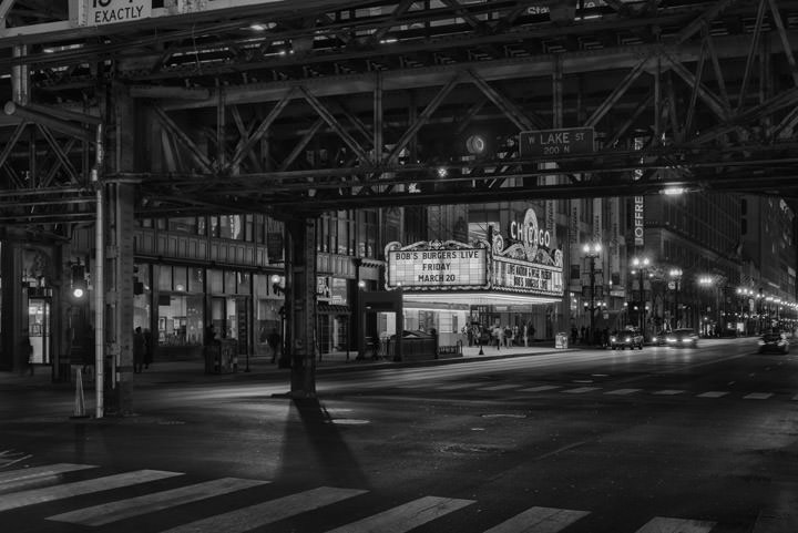 Chicago Theatre and Loop