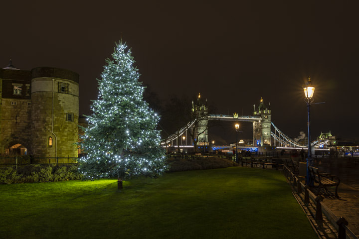 Photograph of Christmas Tower Bridge