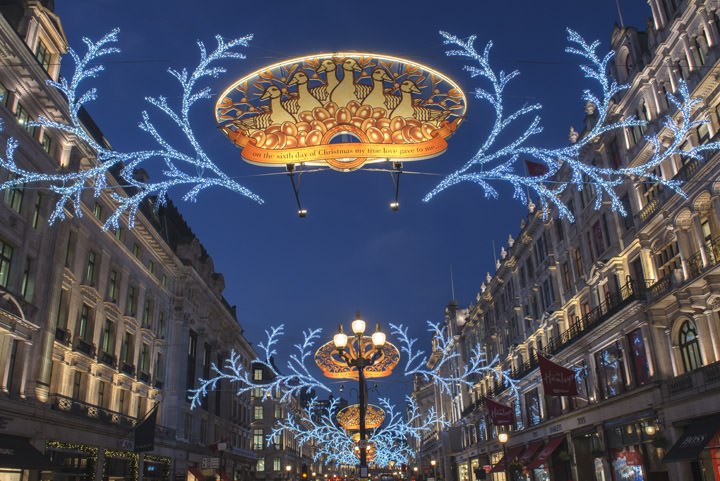 Christmas Lights Regent Street