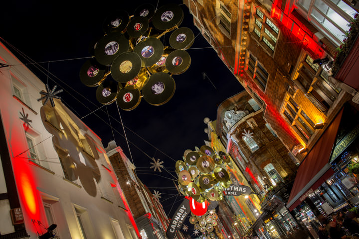 Photograph of Christmas Lights at Carnaby Street 2