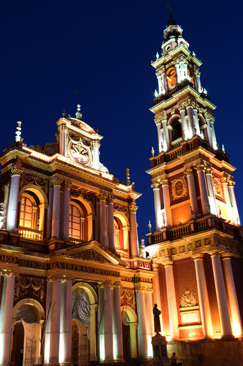 Church of San Francisco Salta - Argentina