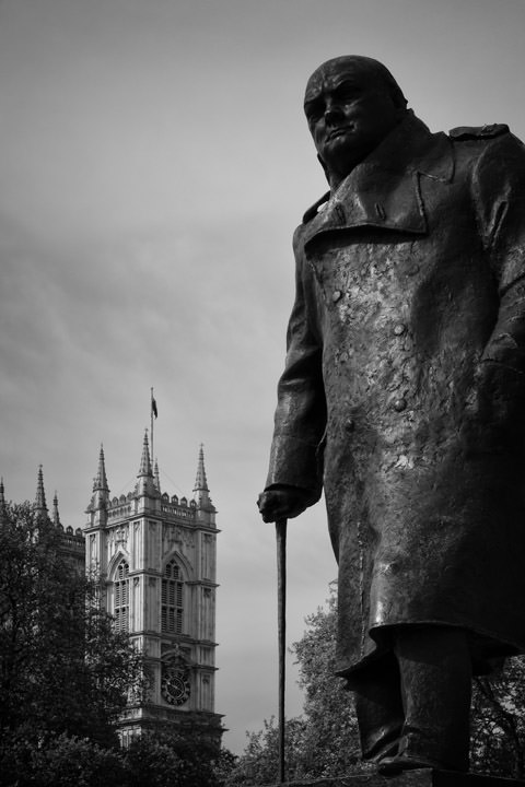 Churchill Westminster Abbey