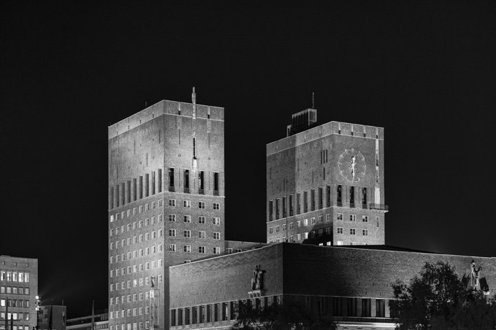 Photograph of City Hall 1 Oslo