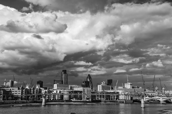 Photograph of City Skyline 1