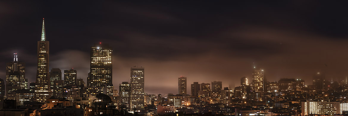Photograph of City Skyline San Francisco 1