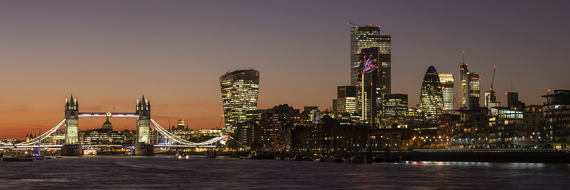 Photograph of City of London Skyline 26