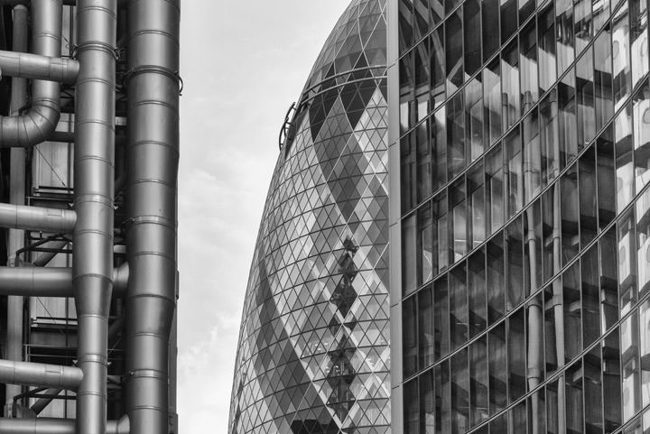 Photograph of City of London Buildings 1