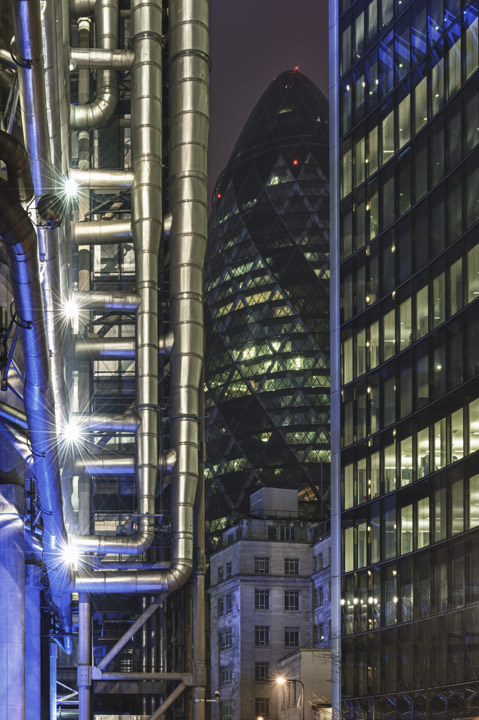 Photograph of City of London Buildings 2