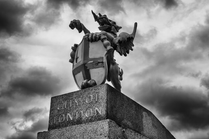 Photograph of City of London Dragon