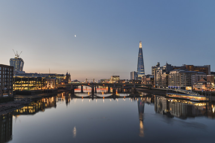 Photograph of City of London Skyline 1