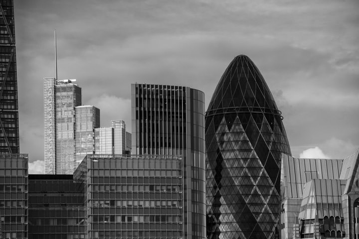 Photograph of City of London Skyline 11