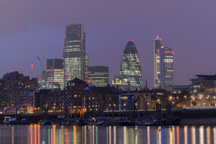 Photograph of City of London Skyline 12