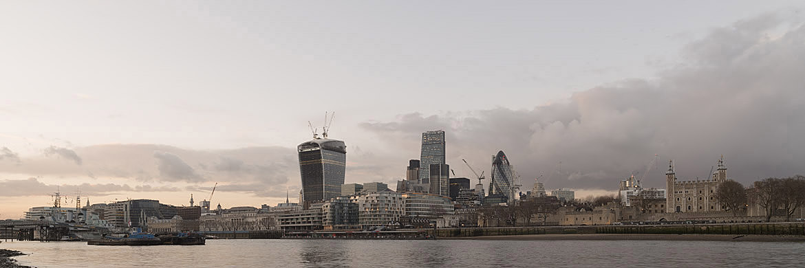 Photograph of City of London Skyline 15
