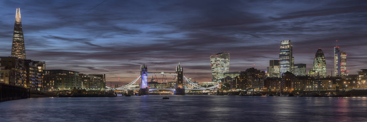 Photograph of City of London Skyline 17