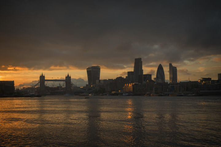 Photograph of City of London Skyline 18