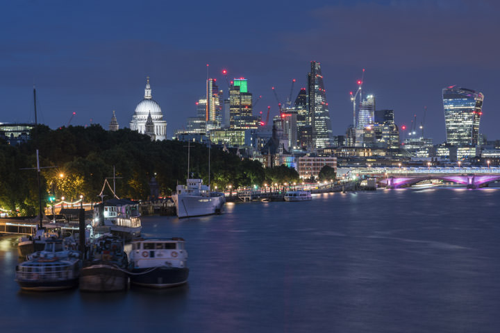 Photograph of City of London Skyline 22