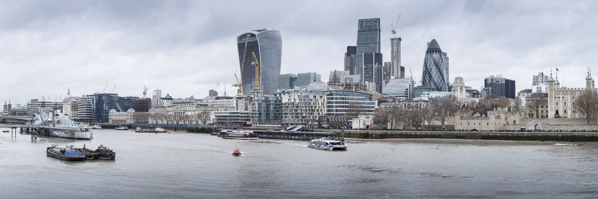 Photograph of City of London Skyline 25