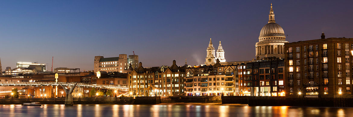 Photograph of City of London Skyline 3