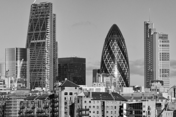 Photograph of City of London Skyline 6