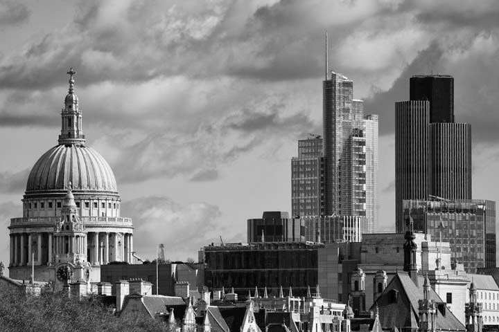 Photograph of City of London Skyline 7