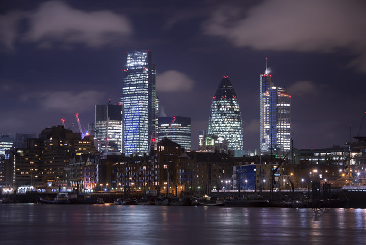 Photograph of City of London Skyline 9
