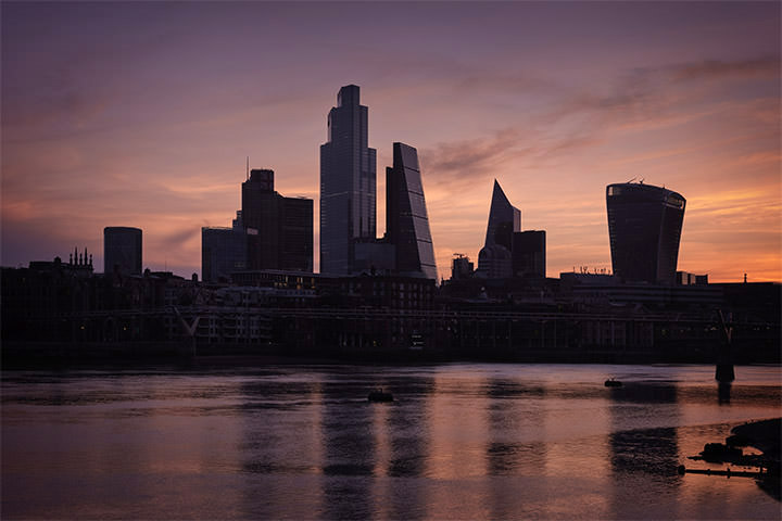 Photograph of City of London Sunrise 1