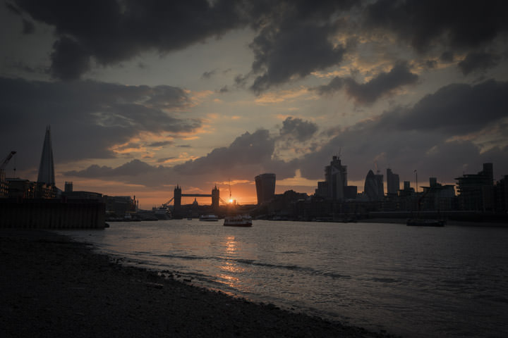City of London Sunset 1