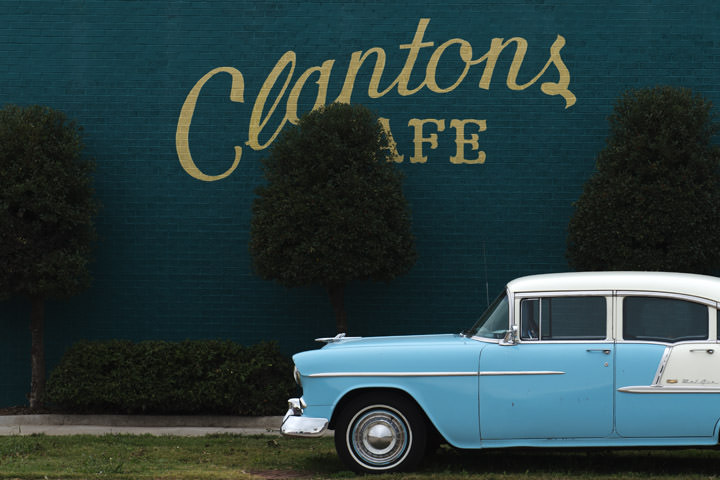 Photograph of Clantons Cafe