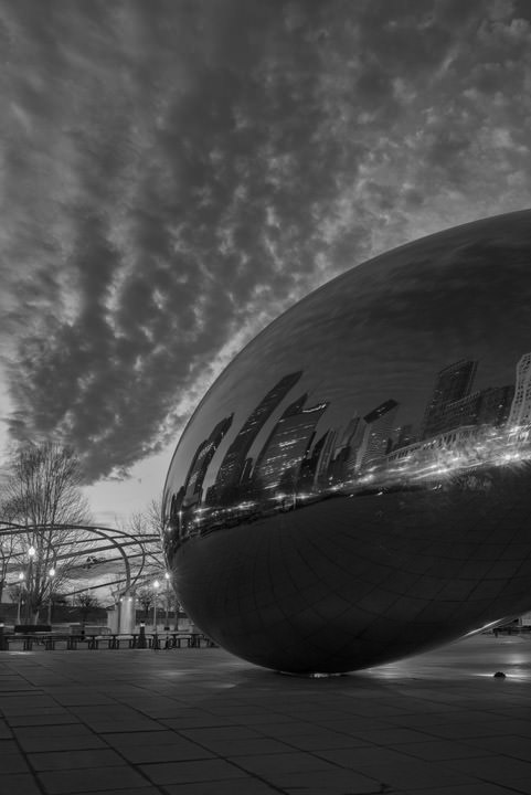 Photograph of Cloud Gate 1