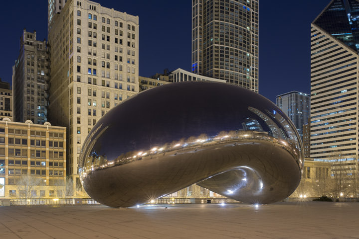 Photograph of Cloud Gate 3