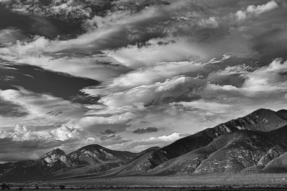 Photograph of Clouds   Taos