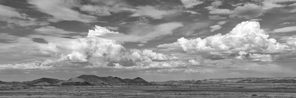 Photograph of Clouds over New Mexico 3