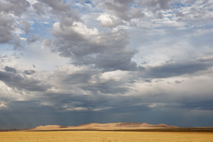 Photograph of Clouds over New Mexico