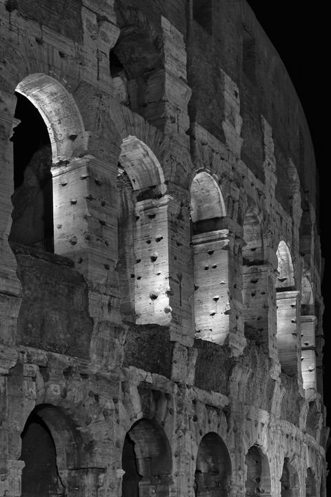 Photograph of Colosseum Rome 3