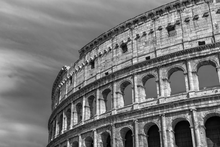 Photograph of Colosseum Rome 4