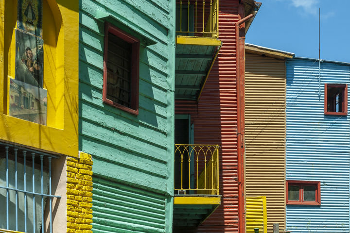 Photograph of Colours La Boca 1