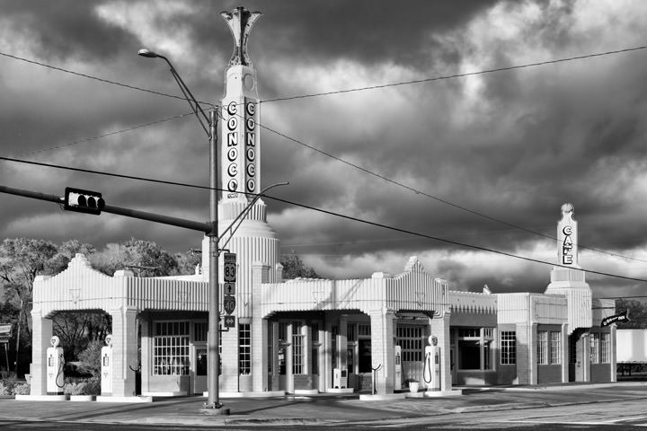 Conoco Tower-  Route 66 Shamrock - Texas