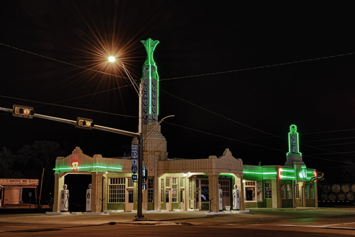 Conoco Tower  9 Shamrock - Texas