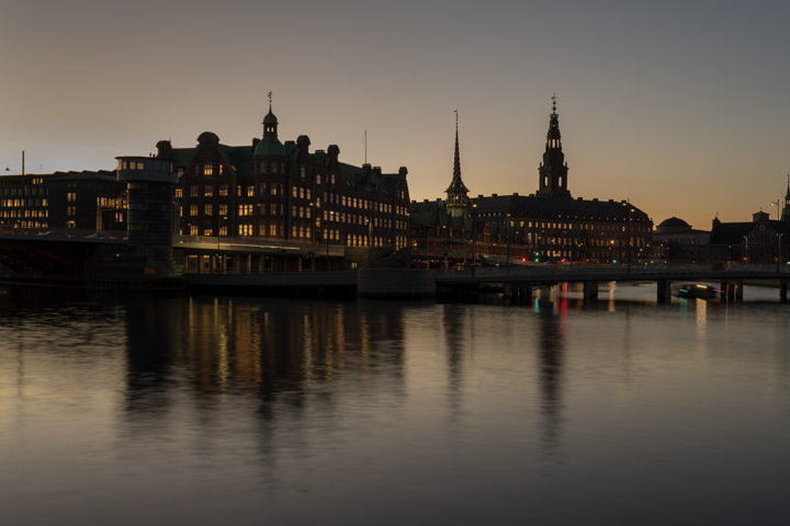 Photograph of Copenhagen Skyline 1