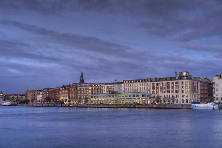 Photograph of Copenhagen Skyline 2