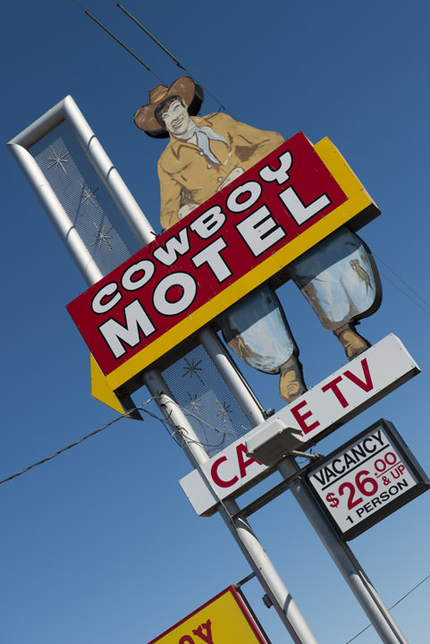 Photograph of Cowboy Motel