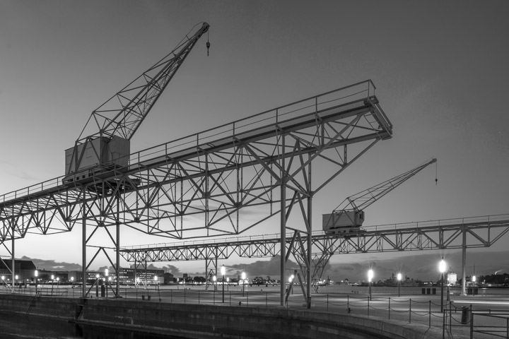 Photograph of Cranes Cristianshavn 1