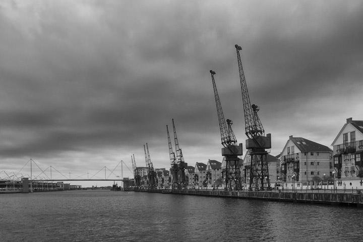 Photograph of Cranes Royal Docks 1